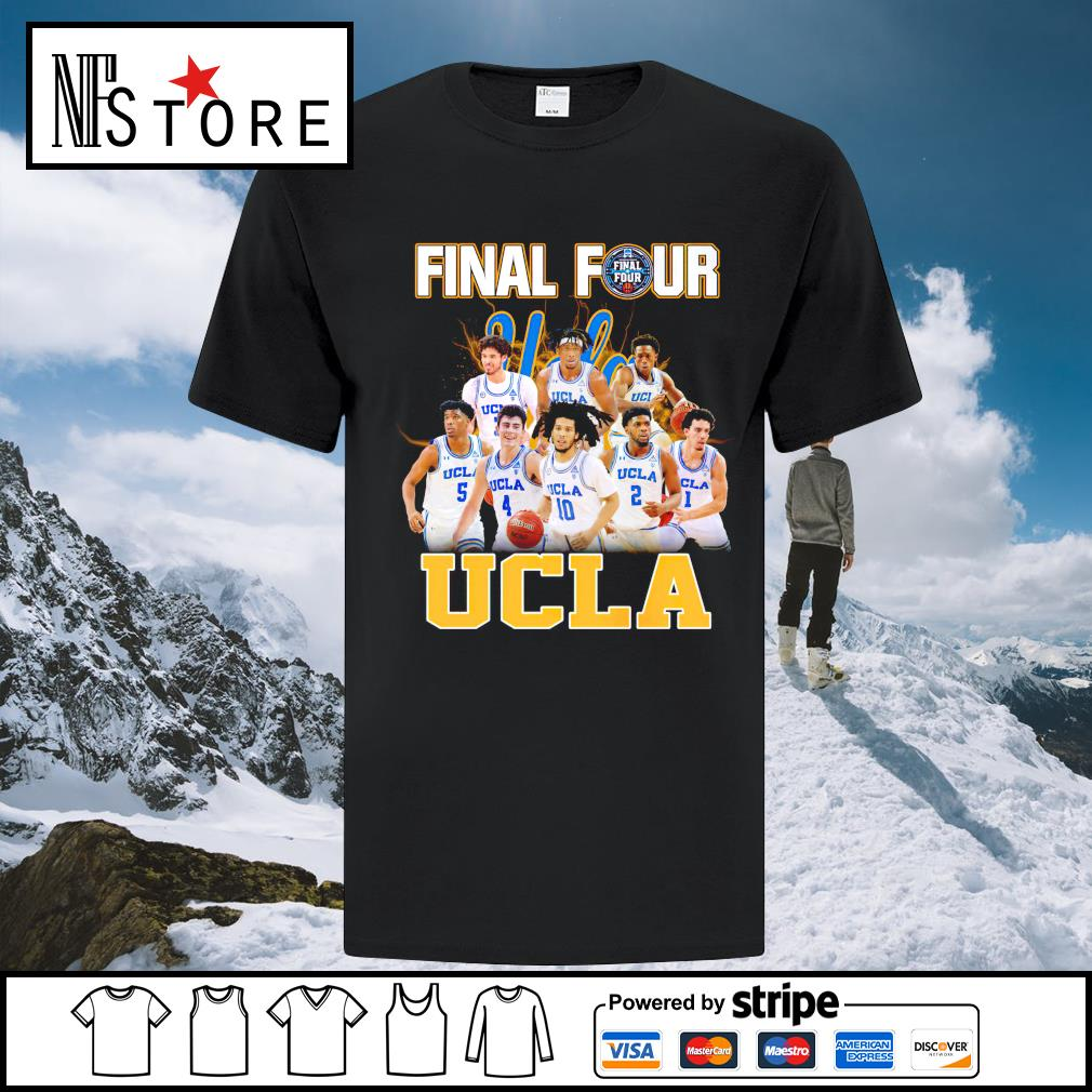 2021 Men's Basketball Final Four UCLA shirt