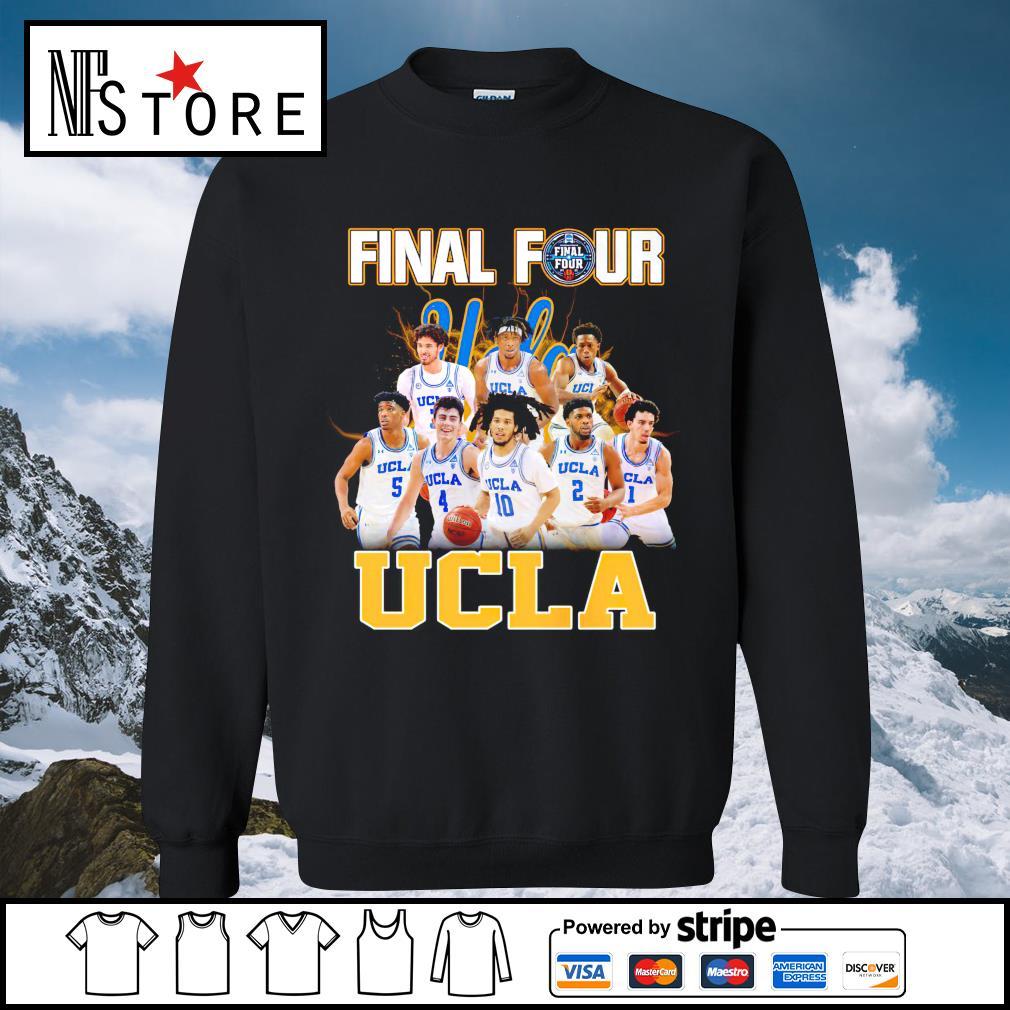 2021 Men's Basketball Final Four UCLA sweater