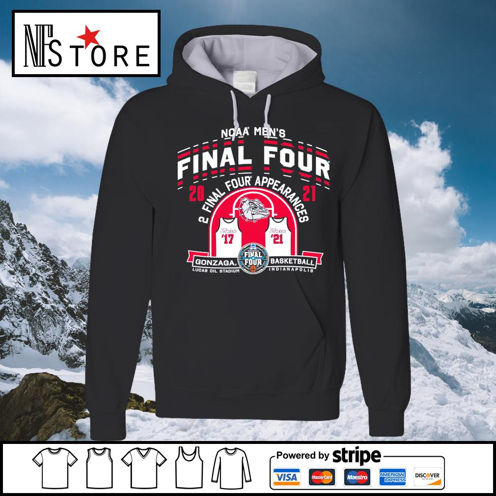 2021 NCAA Men's Basketball Tournament March Madness Final Four Gonzaga Basketball hoodie