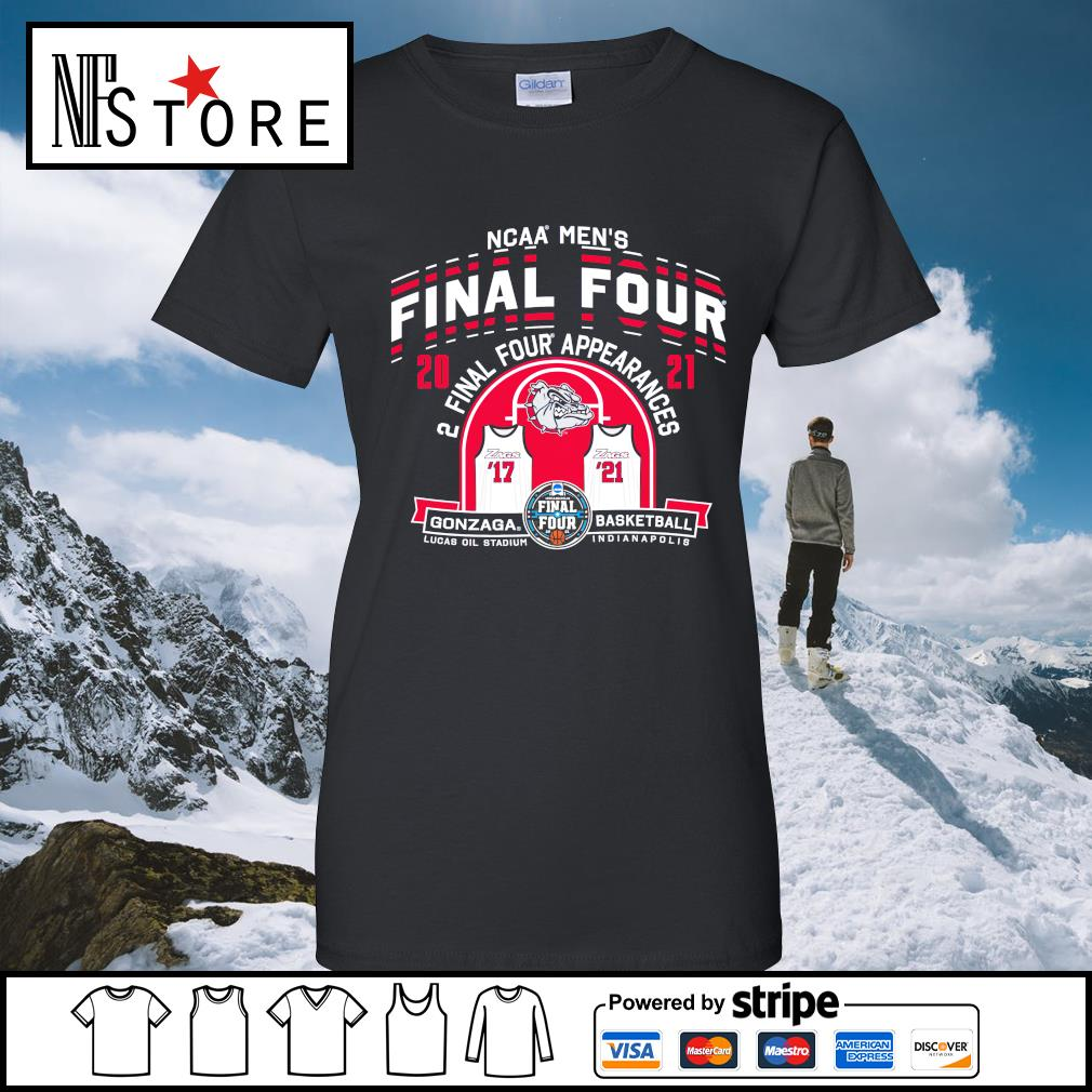 2021 NCAA Men's Basketball Tournament March Madness Final Four Gonzaga Basketball ladies-tee