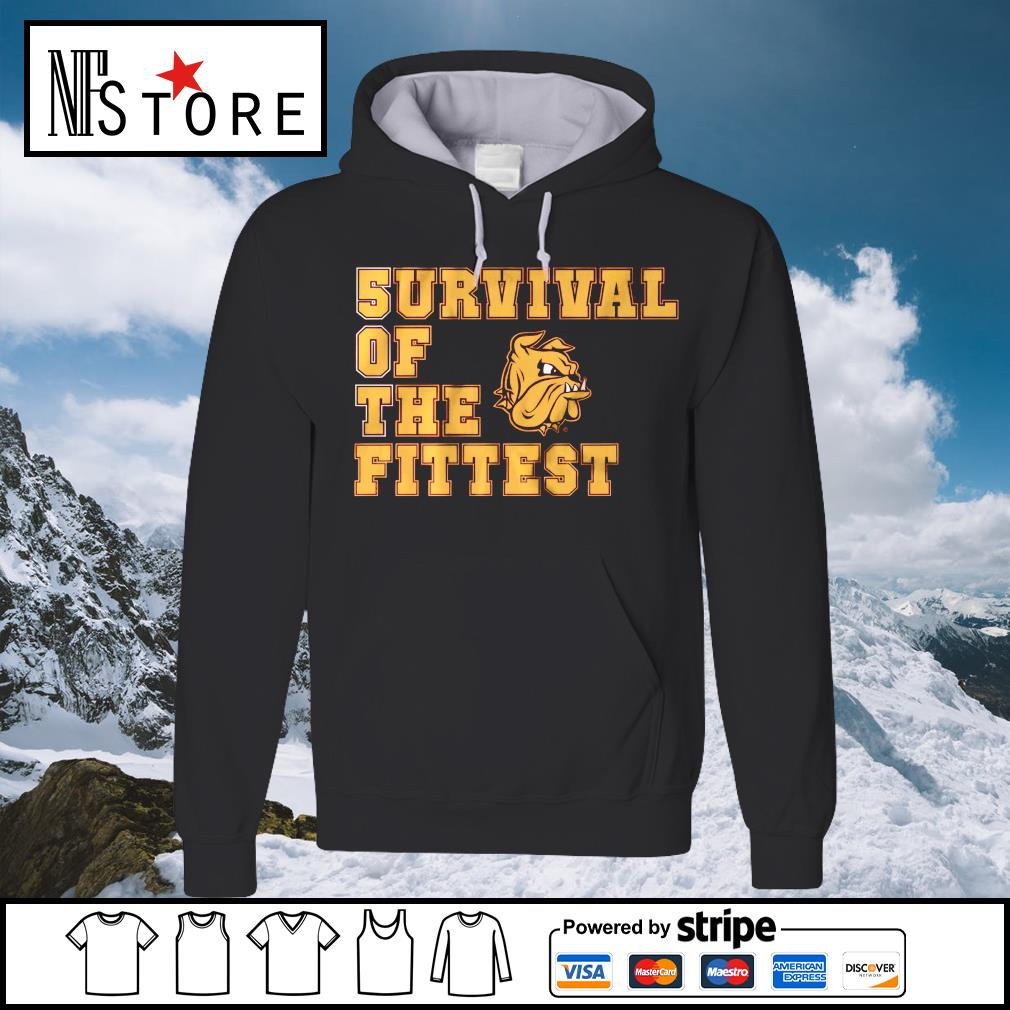 5urvival of the Fittest Minnesota Duluth hoodie