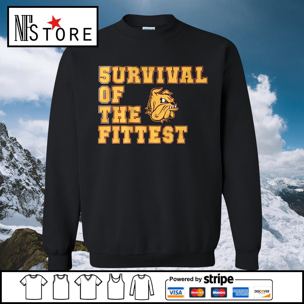 5urvival of the Fittest Minnesota Duluth sweater