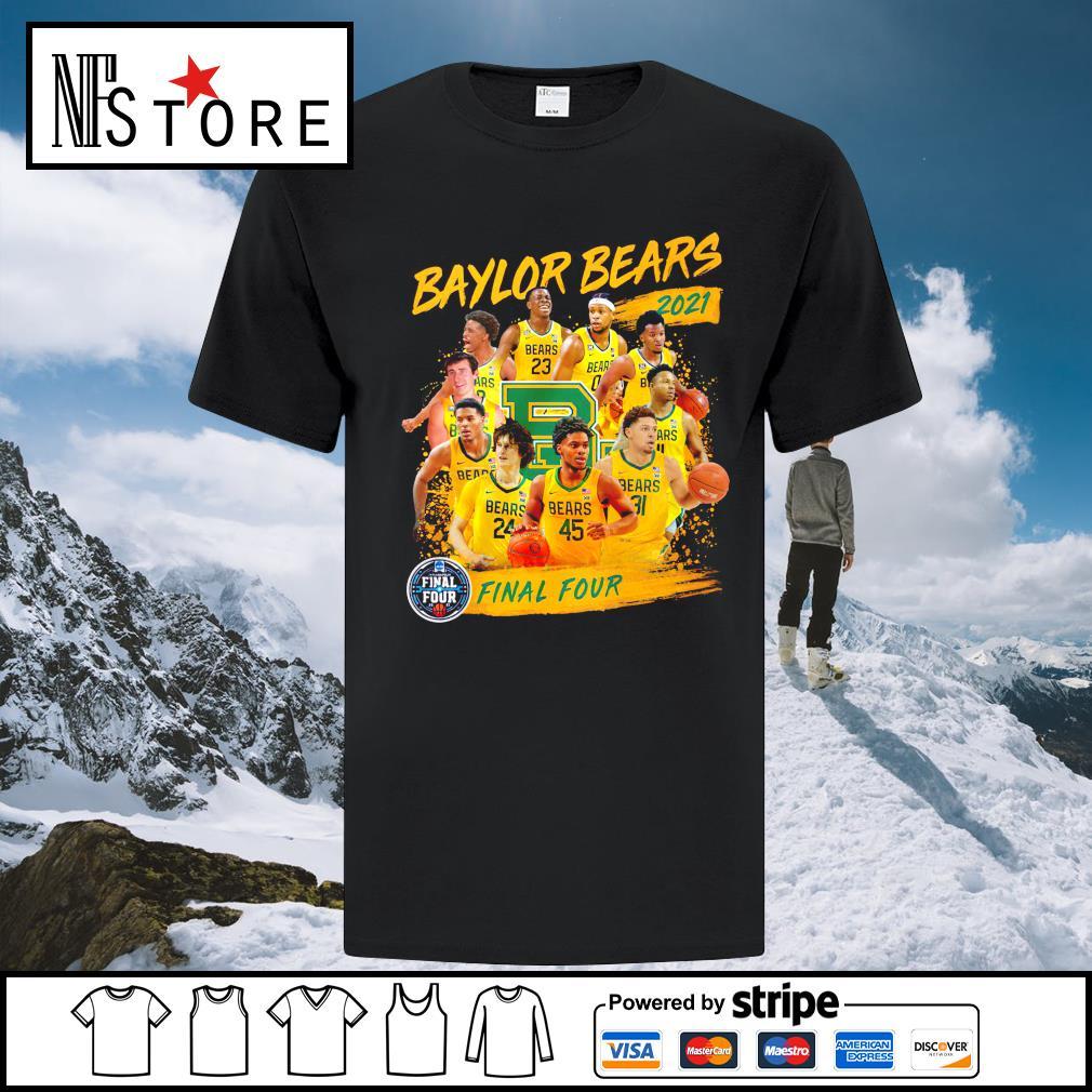 Baylor Bears 2021 Final Four shirt