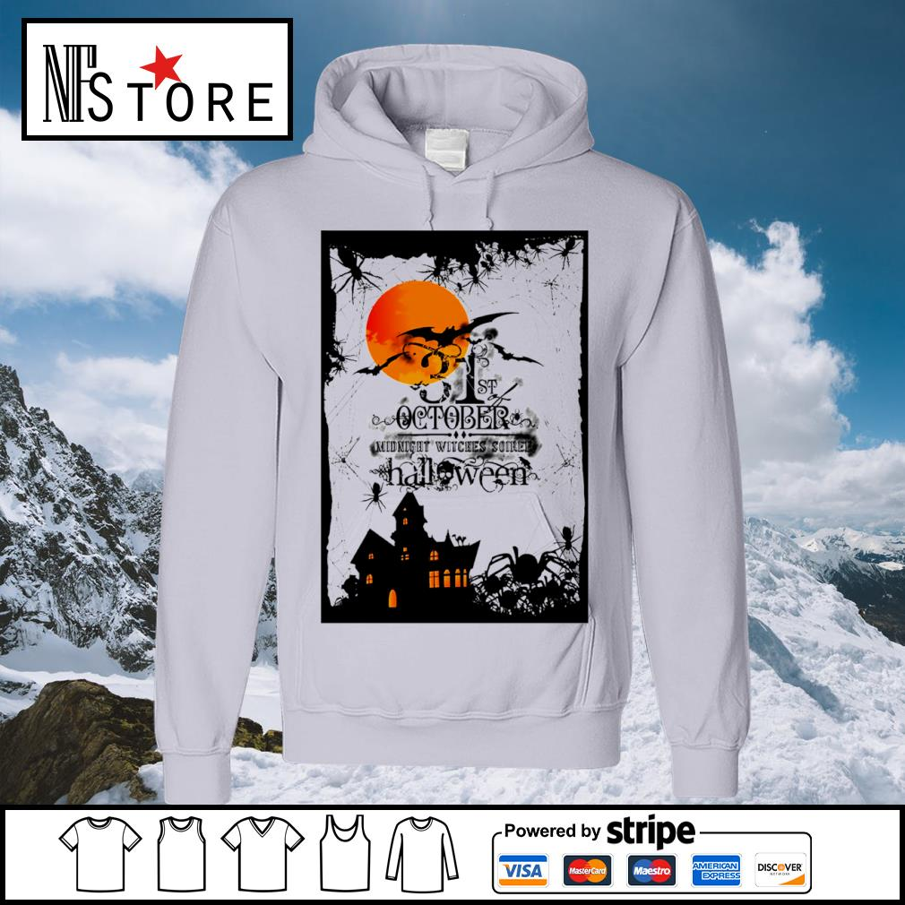31st October midnight witches soiree Halloween s hoodie