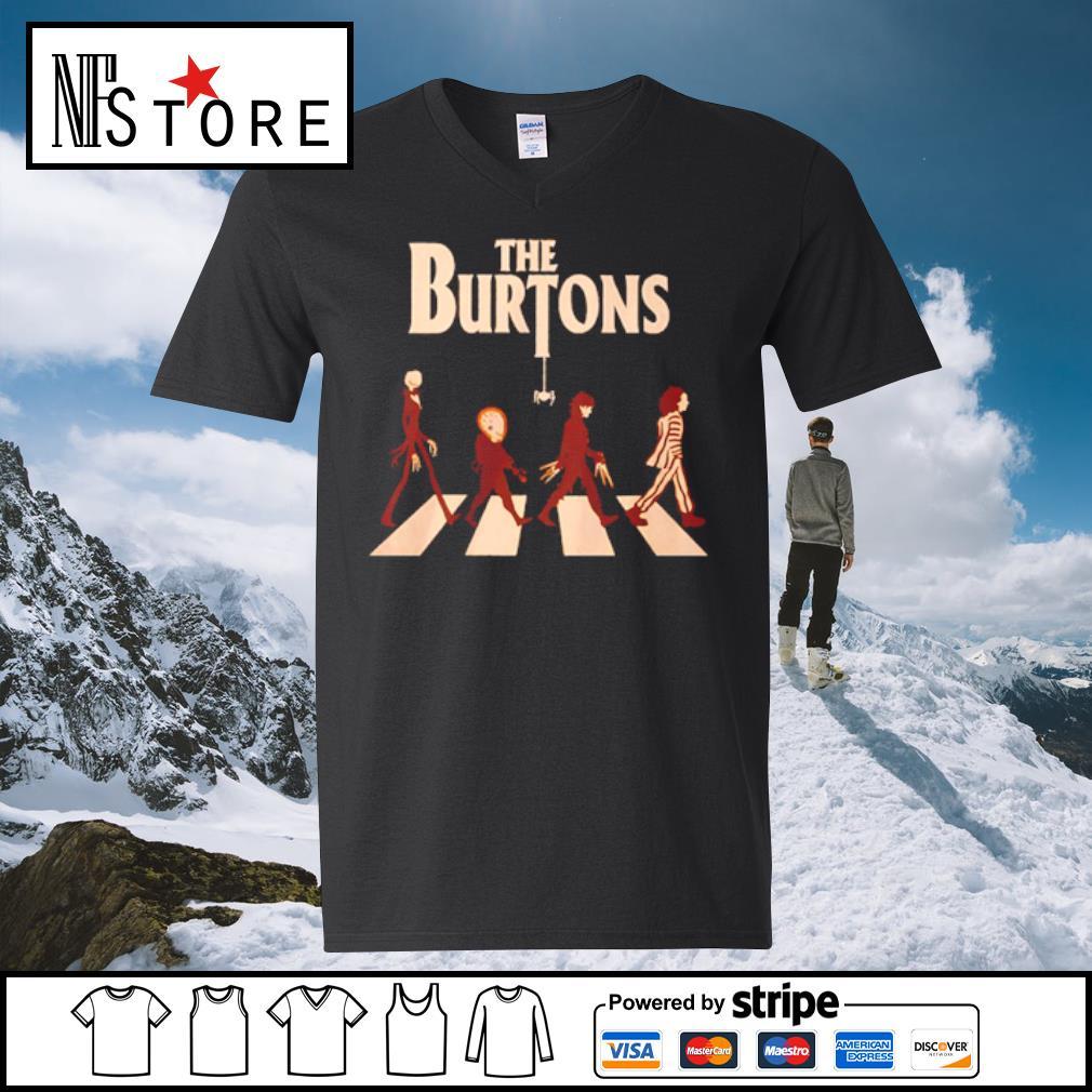 Abbey Road The Burtons s v-neck-t-shirt