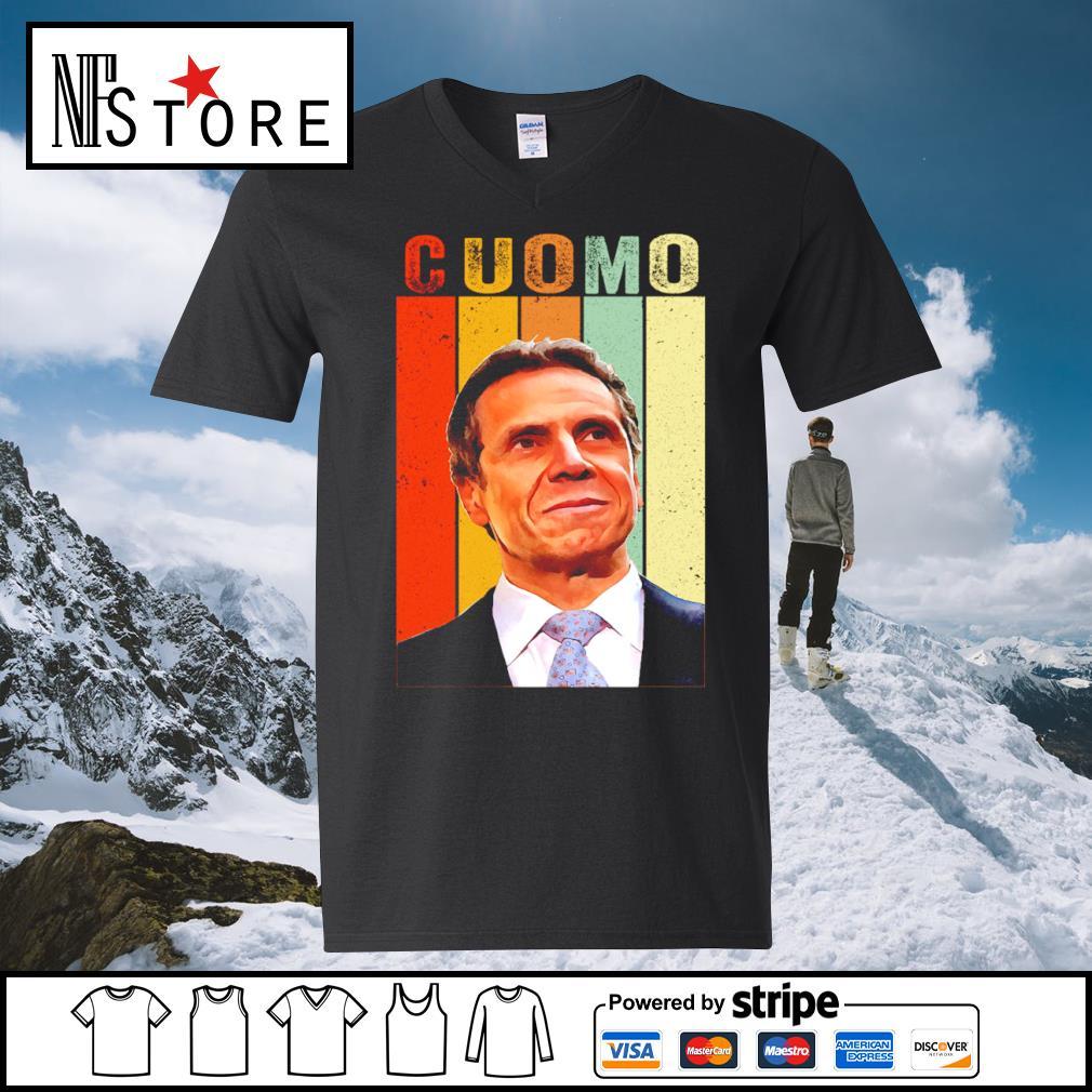 Andrew Cuomo vintage s v-neck-t-shirt