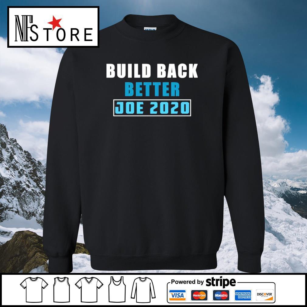 Build back better Joe 2020 s sweater