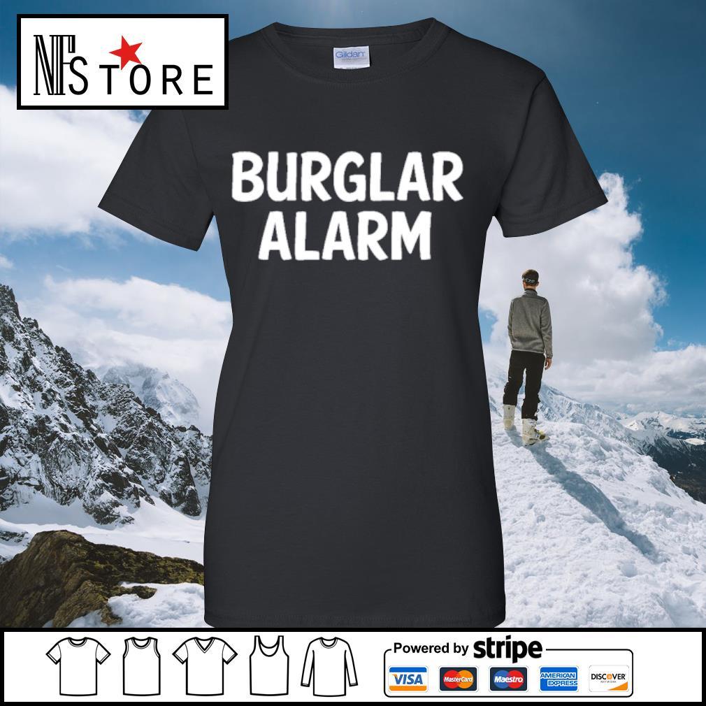 Burlar Alarm Shirt ladies-tee