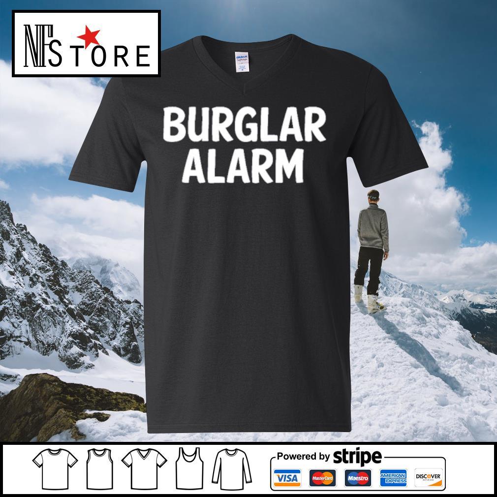 Burlar Alarm Shirt v-neck-t-shirt