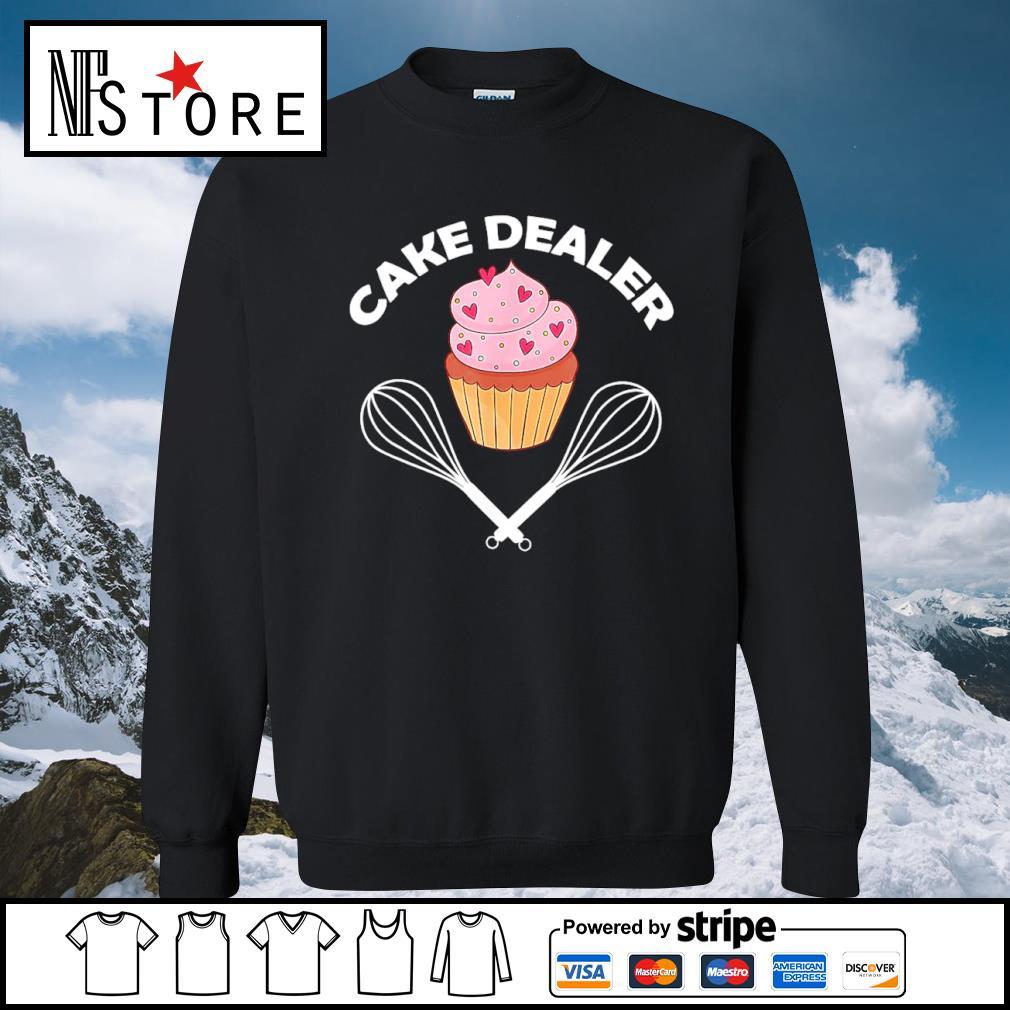 Cake dealer s sweater