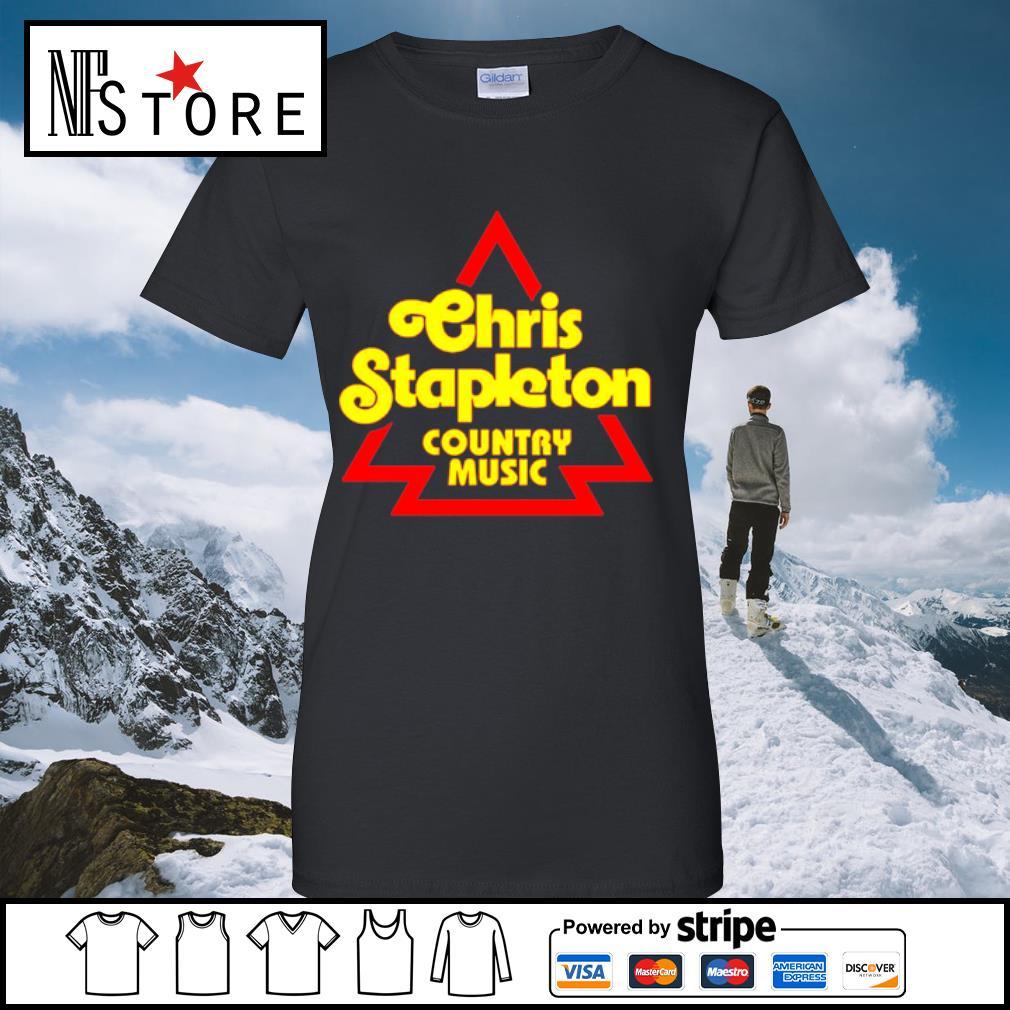 Chris Stapleton Country music Shirt ladies-tee