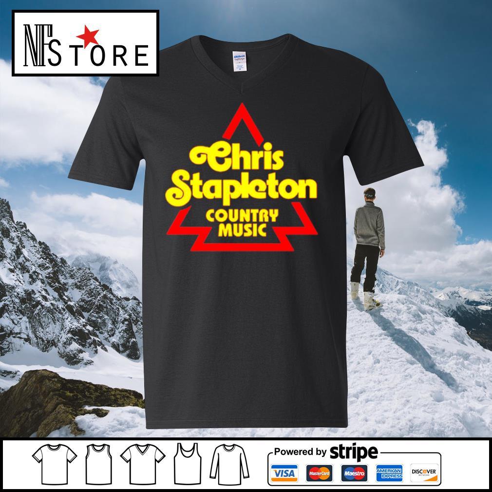 Chris Stapleton Country music Shirt v-neck-t-shirt