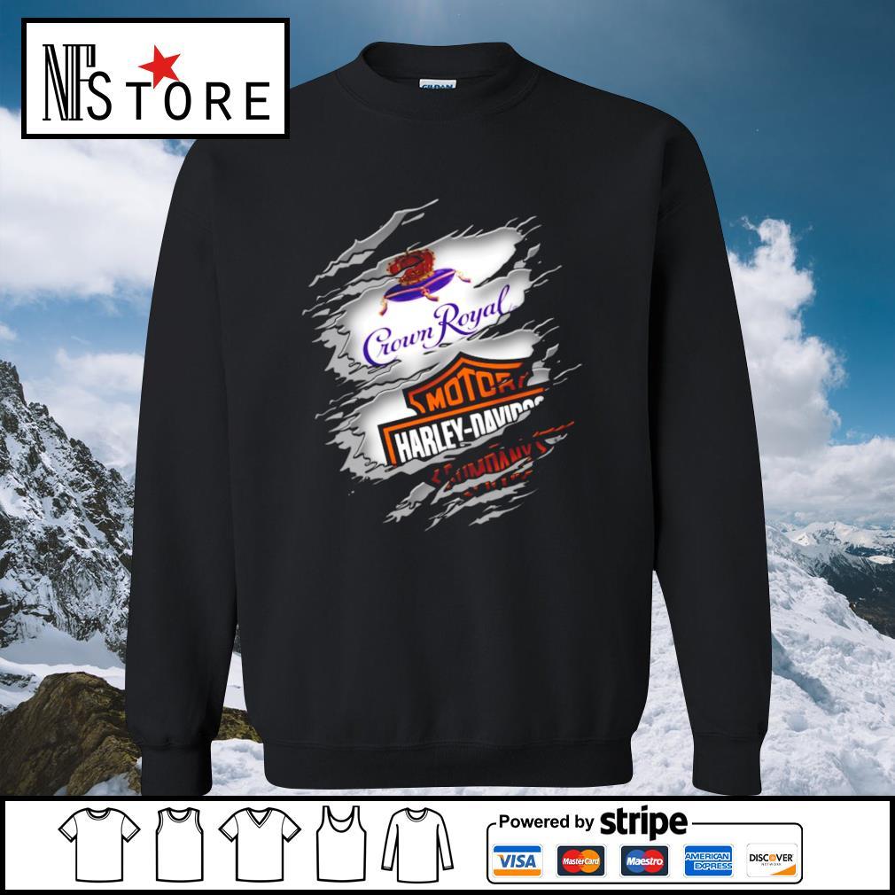 Crown Royal Motor Harley Davidson s sweater
