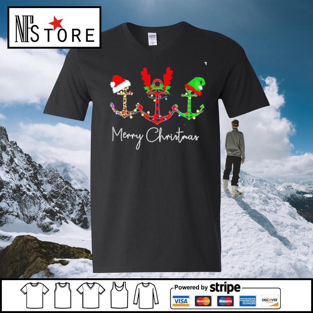 Cruises Merry Christmas s v-neck-t-shirt