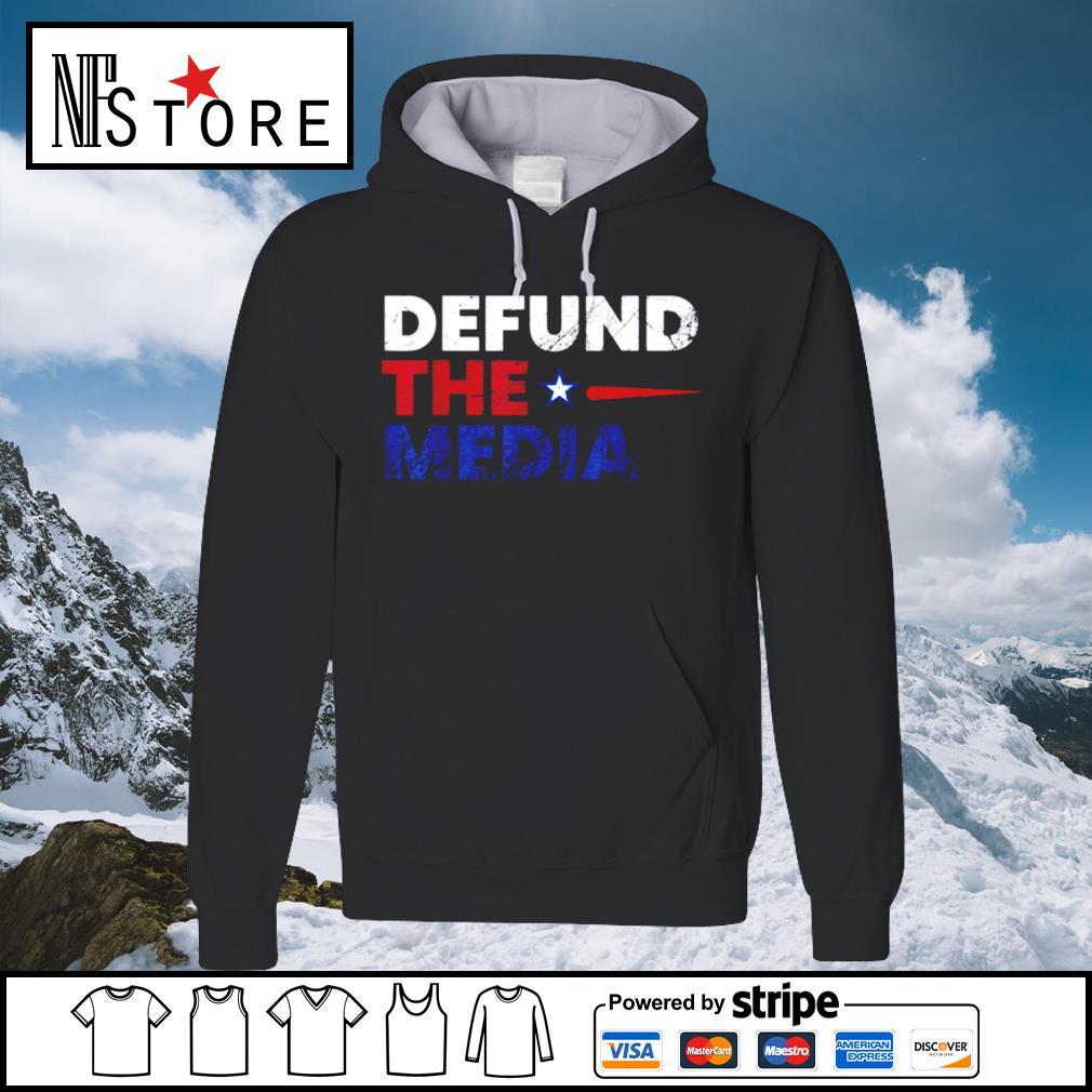 Defund the media s hoodie
