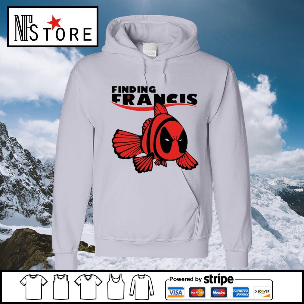 Disney Nemo Deadpool finding Francis s hoodie