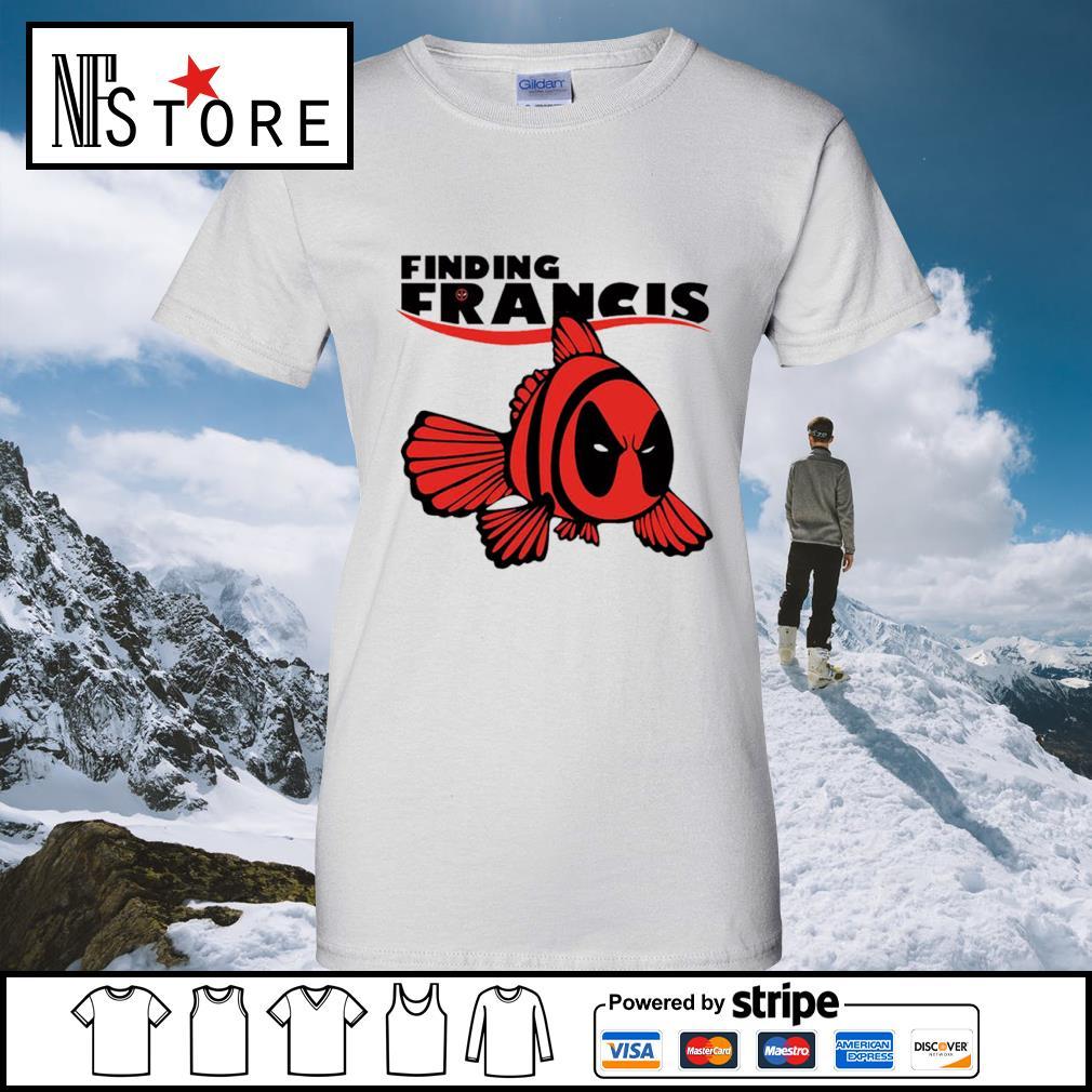 Disney Nemo Deadpool finding Francis s ladies-tee