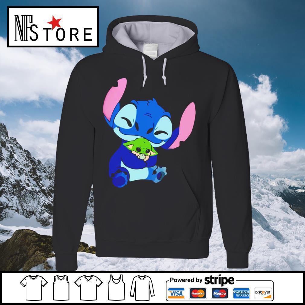 Disney Stitch hug baby Yoda s hoodie