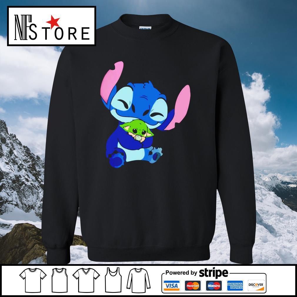 Disney Stitch hug baby Yoda s sweater