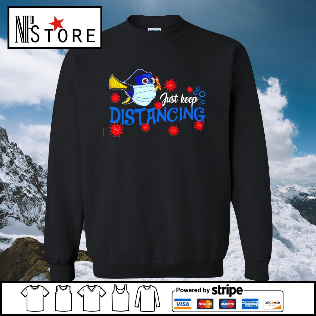 Dory mask Coronavirus just keep distancing s sweater