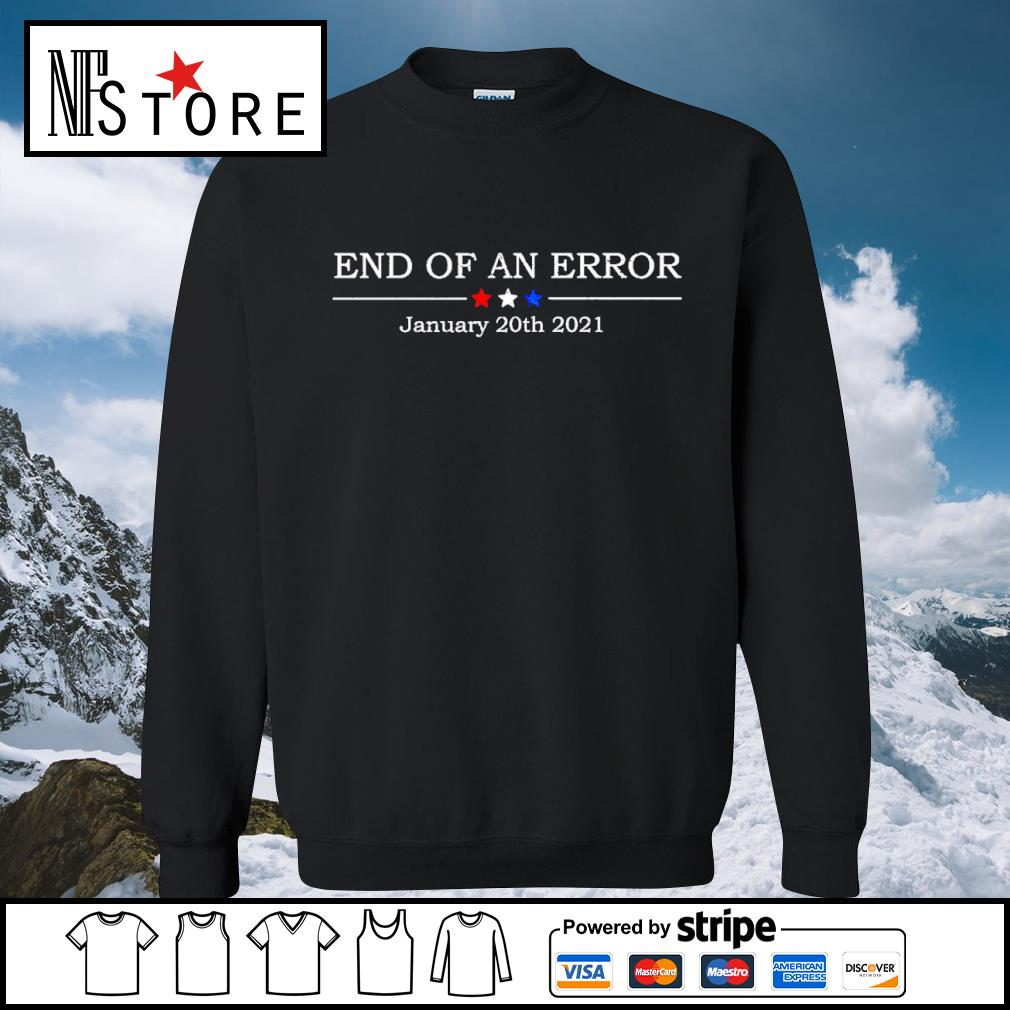 End of an error january 20th 2021 s sweater