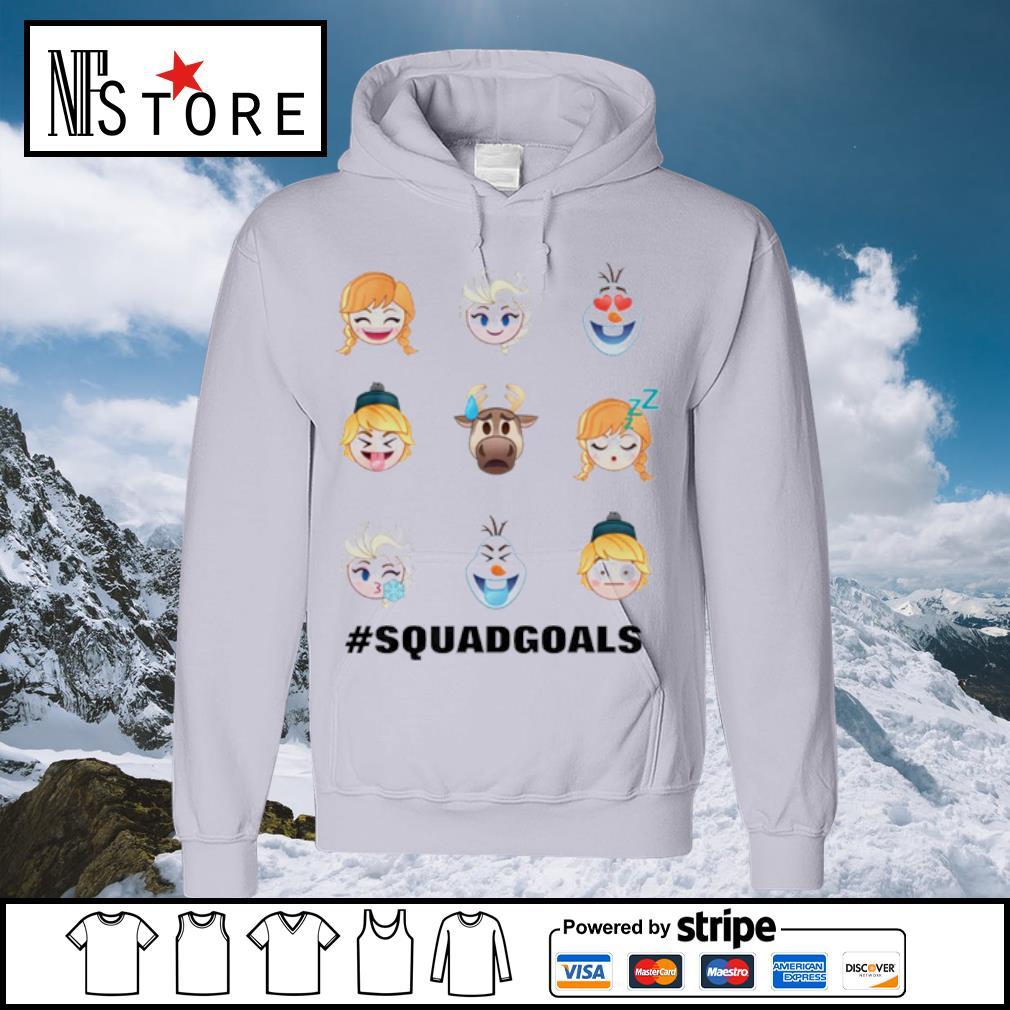 Frozen Emoji Characters s hoodie