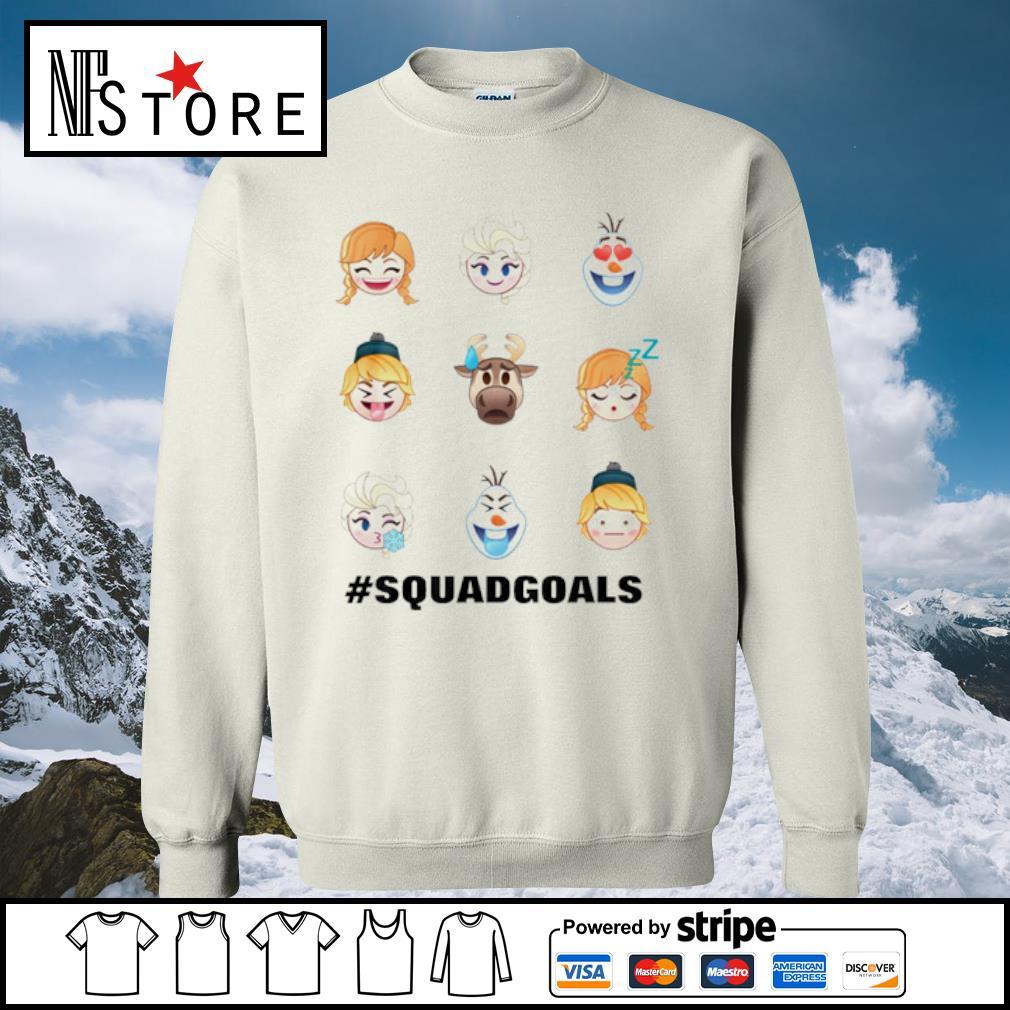 Frozen Emoji Characters s sweater
