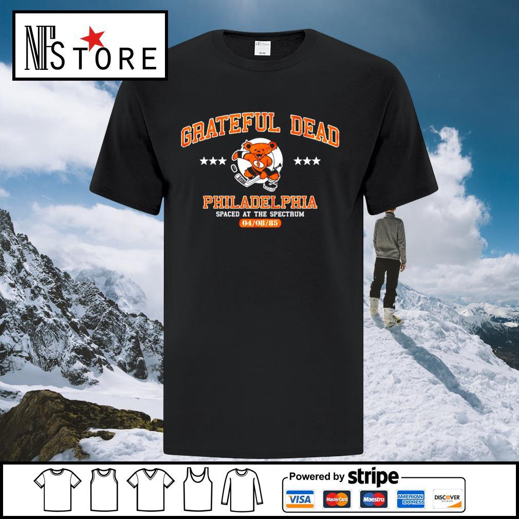 Grateful Dead Philadelphia spaced at the spectrum 04 08 85 shirt