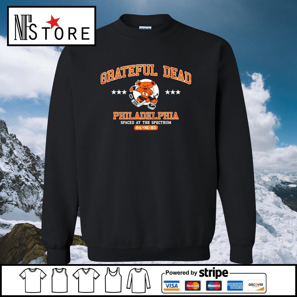 Grateful Dead Philadelphia spaced at the spectrum 04 08 85 s sweater