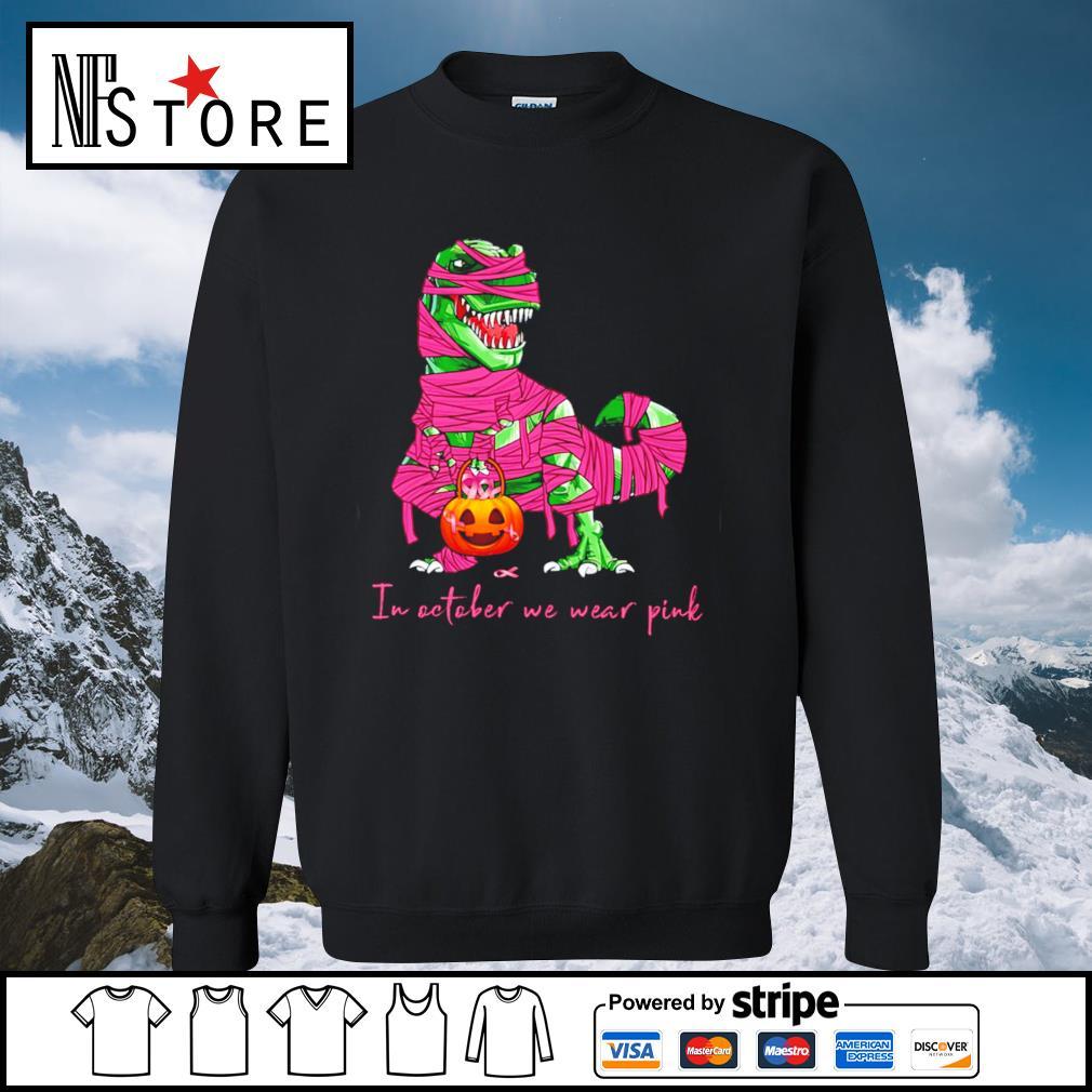 Halloween dinosaurs T-rex pumpkin s sweater