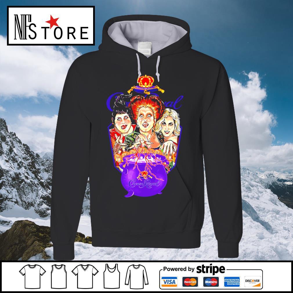 Halloween Hocus Pocus Crown Royal s hoodie