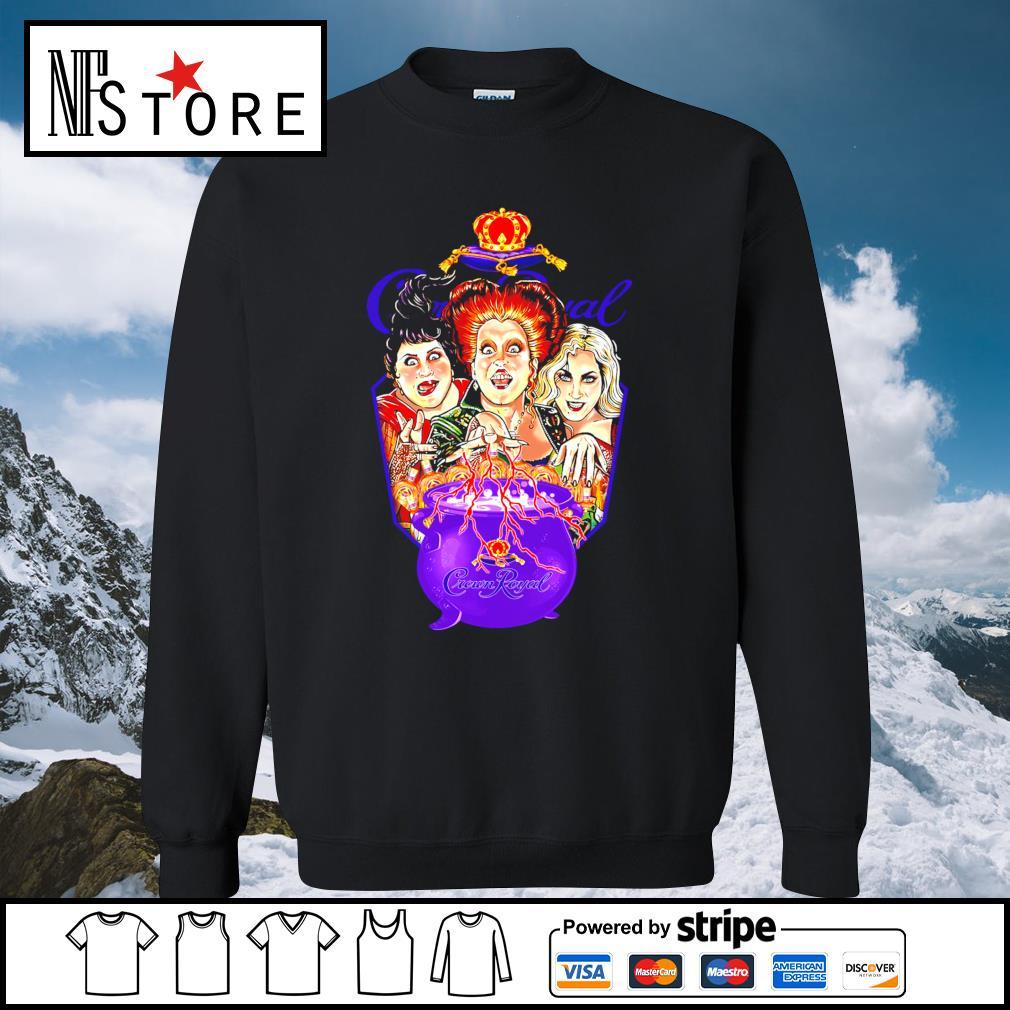 Halloween Hocus Pocus Crown Royal s sweater