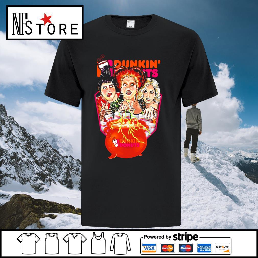 Halloween Hocus Pocus Dunkin' Donuts shirt