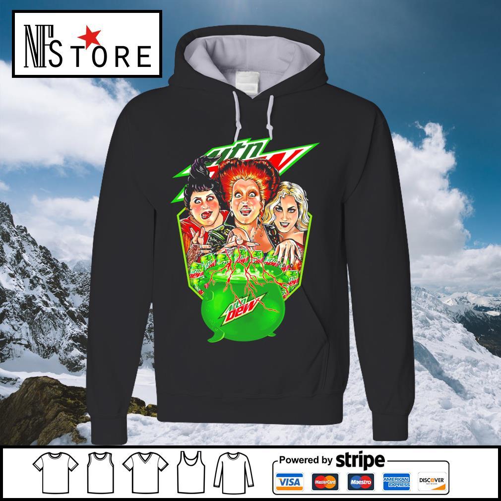 Halloween Hocus Pocus MTN Dew s hoodie