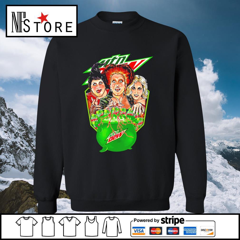 Halloween Hocus Pocus MTN Dew s sweater