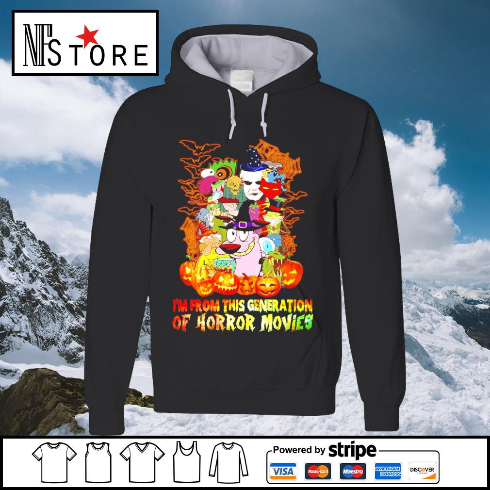 Halloween I'm from this generation of Horror movies s hoodie
