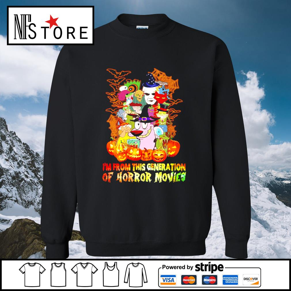 Halloween I'm from this generation of Horror movies s sweater
