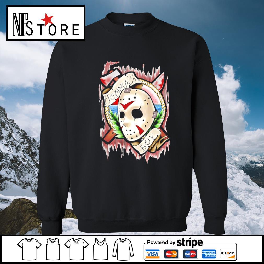Halloween Jason Voorhees Mama's boy s sweater