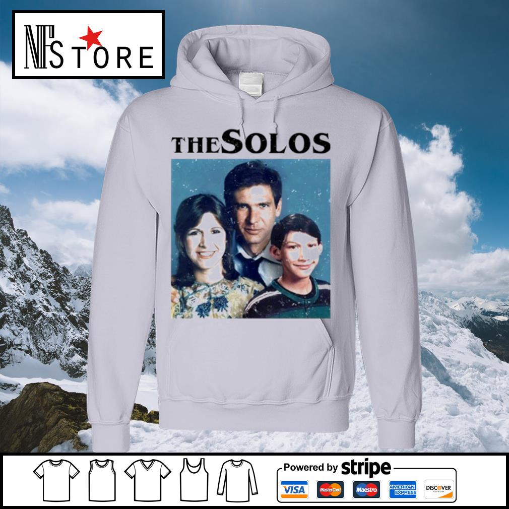 Han Solo Princess Leia Kylo Ren The Solos family s hoodie