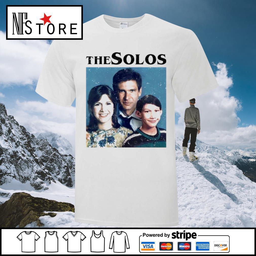 Han Solo Princess Leia Kylo Ren The Solos family shirt