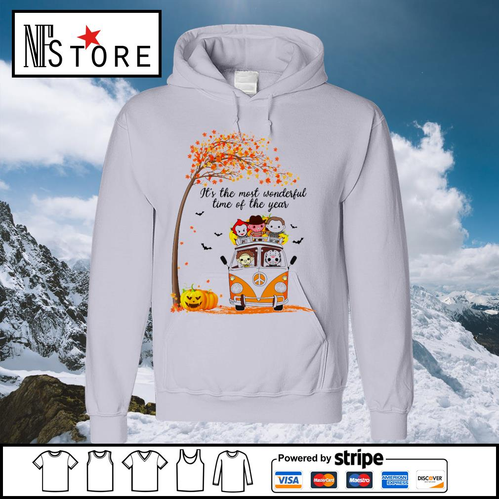 Horror Movies Character It_s the most wonderful time of the year Halloween s hoodie