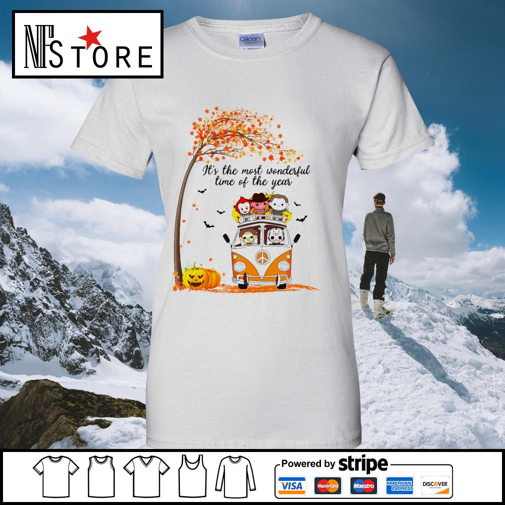 Horror Movies Character It_s the most wonderful time of the year Halloween s ladies-tee