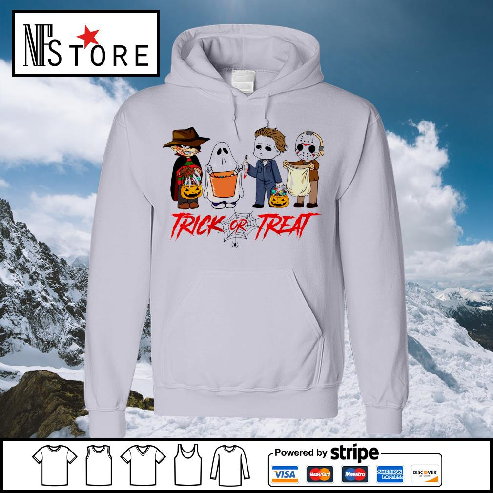 Horror Movies Character Trick or Treat Halloween s hoodie