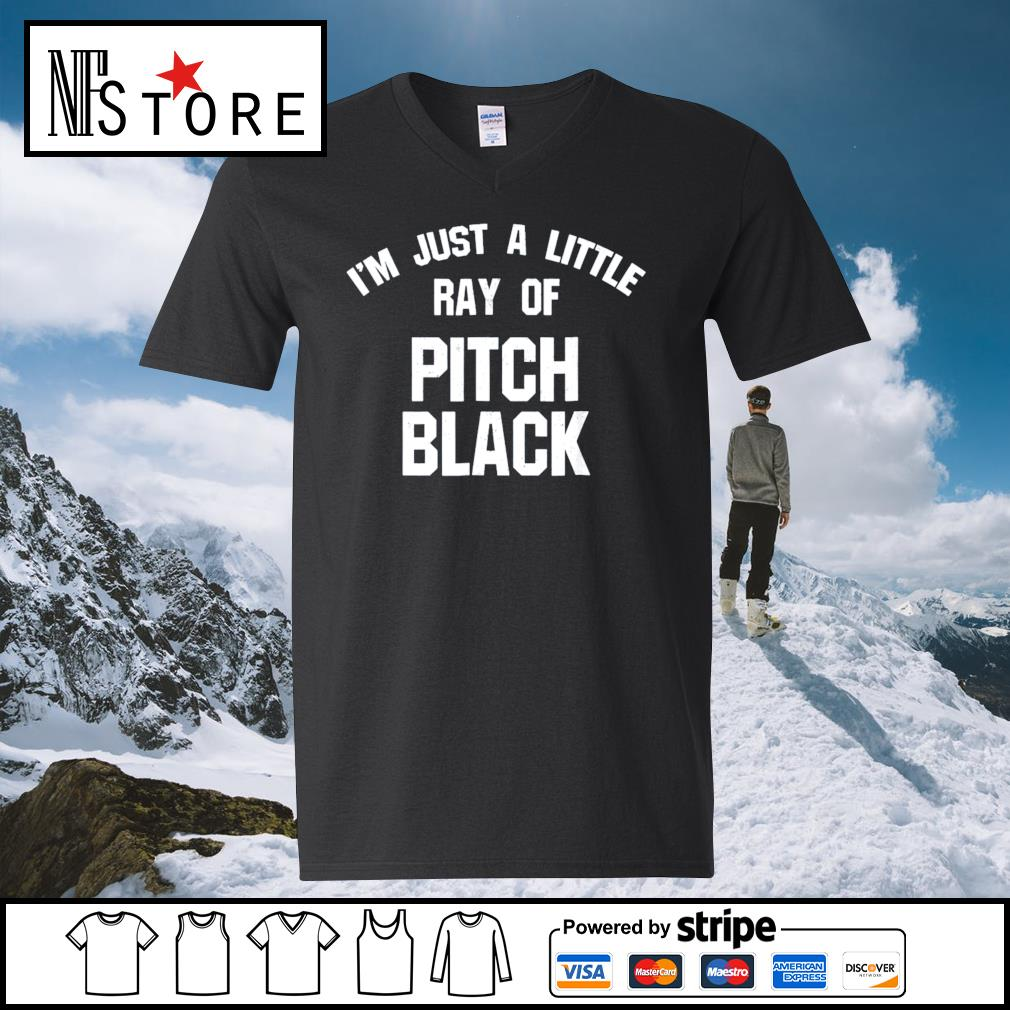 I_m just a little ray of pitch black s v-neck-t-shirt