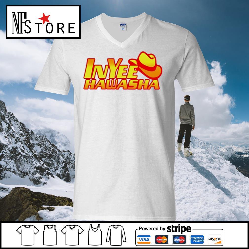 Inyee Hawasha s v-neck-t-shirt