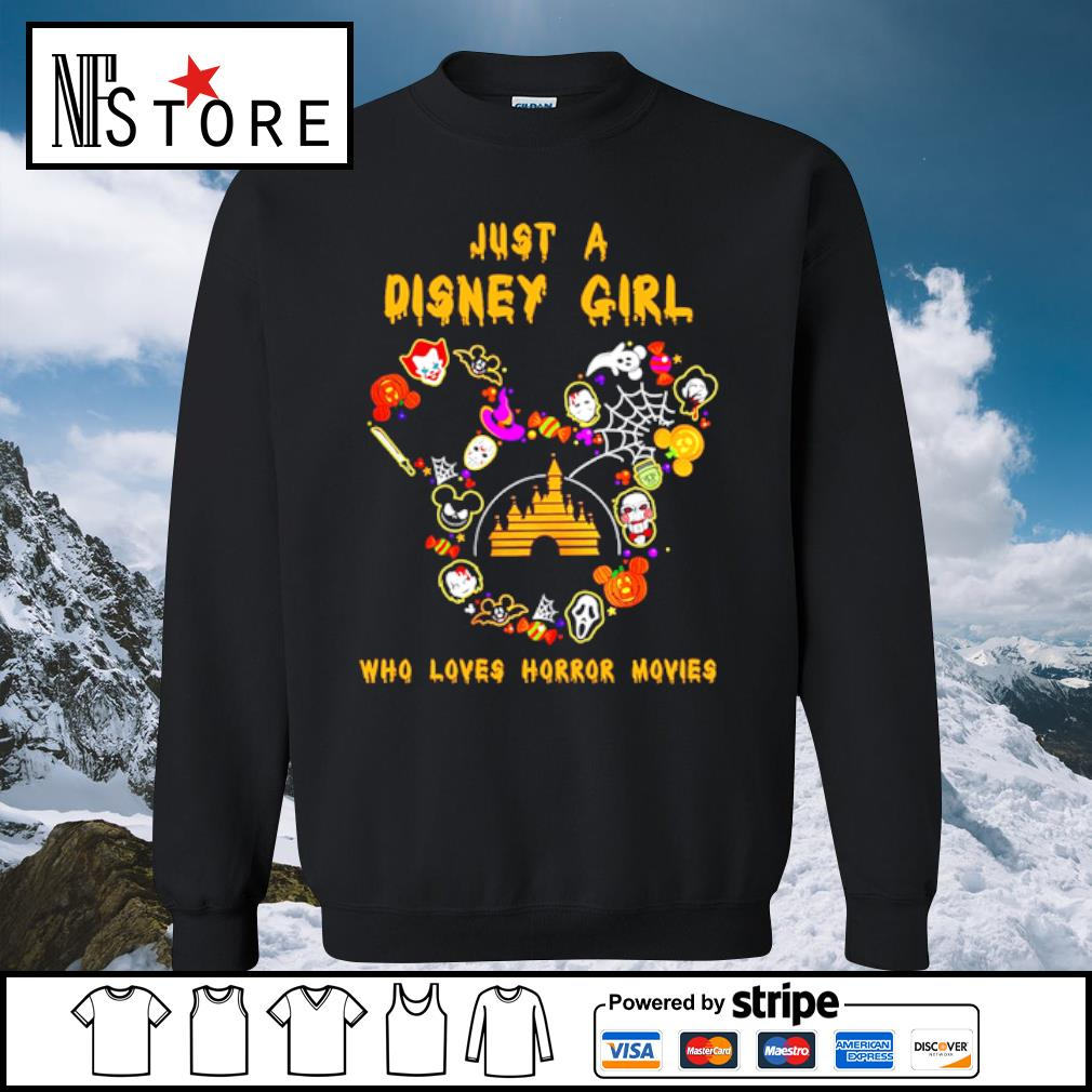 Just a Disney girl who loves horror movies Halloween s sweater