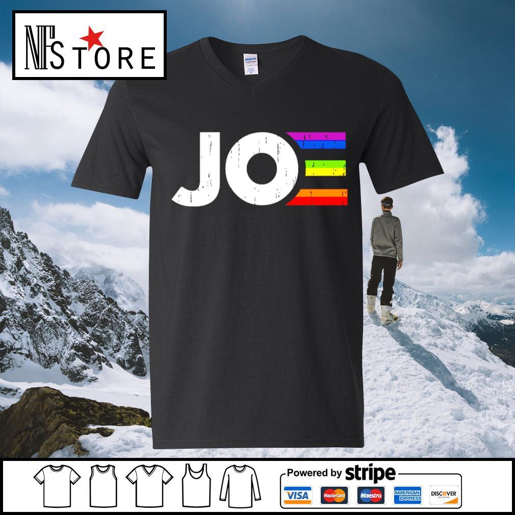 LGBT Joe Biden president s v-neck-t-shirt