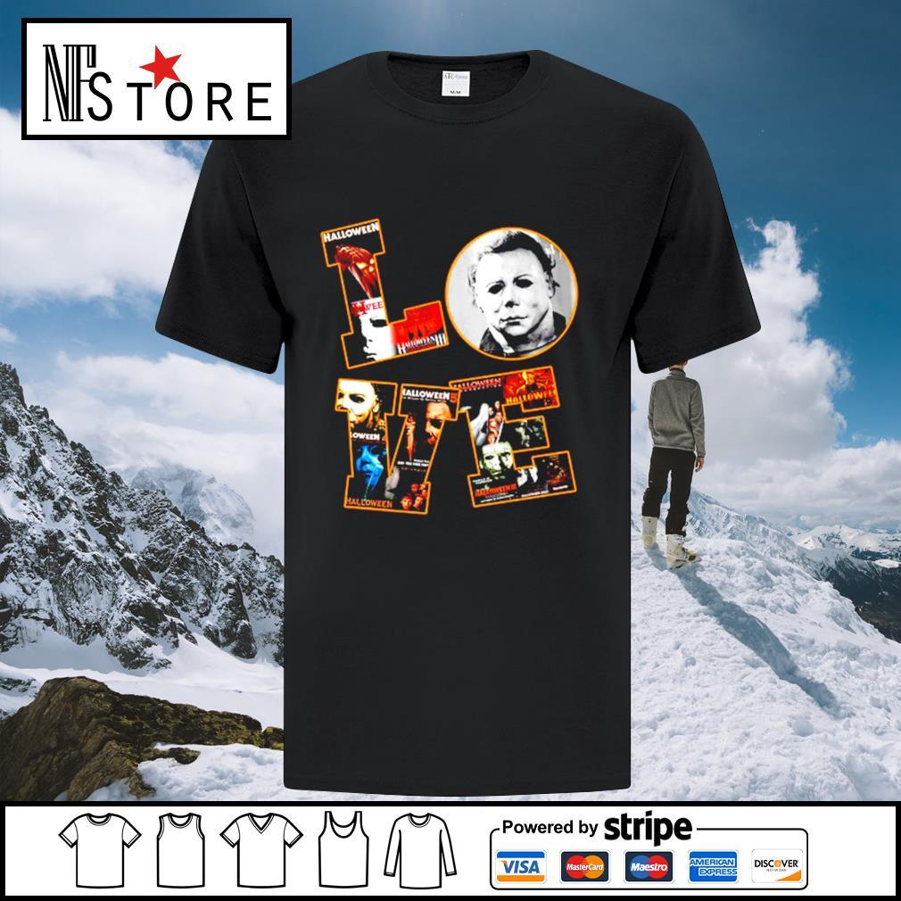 Love Michael Myers Halloween shirt