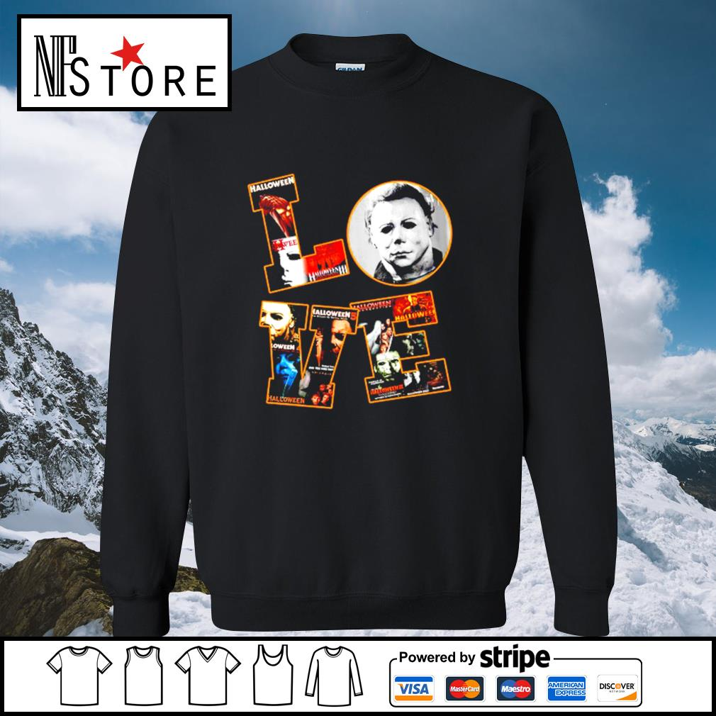 Love Michael Myers Halloween s sweater