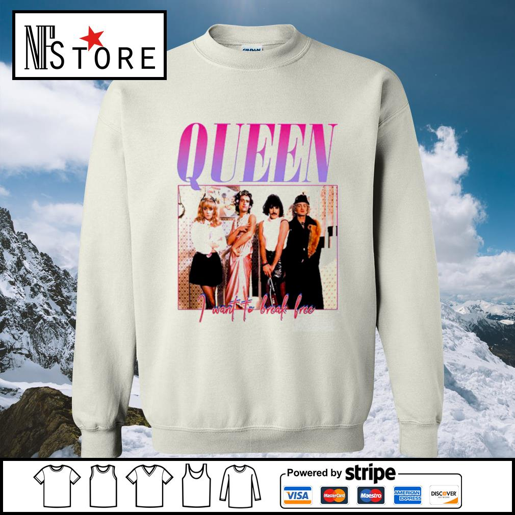 Queen I want to break free s sweater